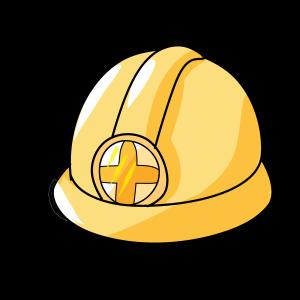 抗洪主题黄色安全帽头盔
