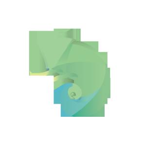 UI创意蜥蜴图形