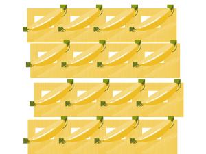 水果店香蕉排列背景元素