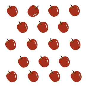 红色水果苹果免抠图元素