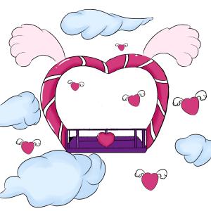 心性座椅天使之心爱情宝座