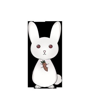 创意卡通兔子摆件