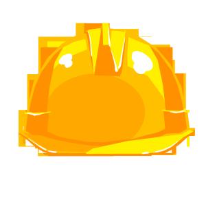 黄色消防安全帽手绘