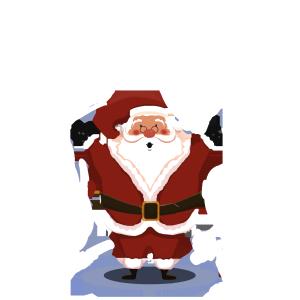 圣诞节装饰素材psd格式